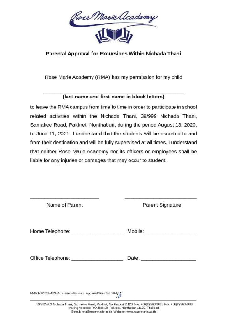 thumbnail of Parental_Approval_for_Excursions_Within_Nichada_Thani_2020_2021
