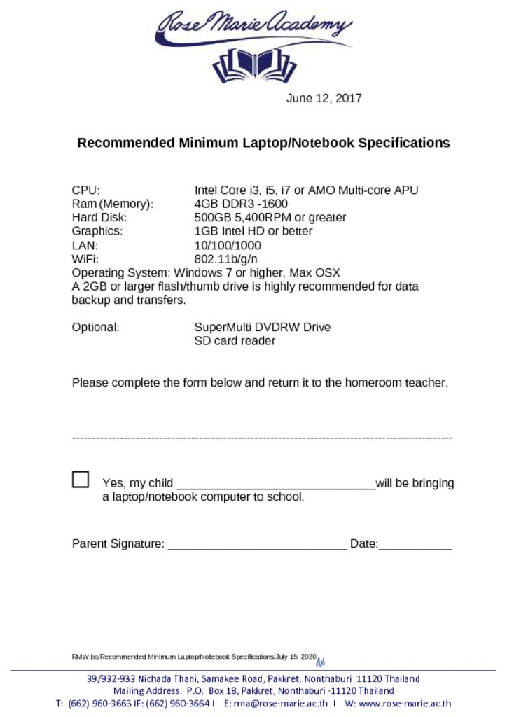 thumbnail of Recommended_Minimum_Laptop_Notebook_Specifications_of_Website